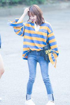 SHINE ON YOU :: 170908 뮤직뱅크 위키미키 최유정