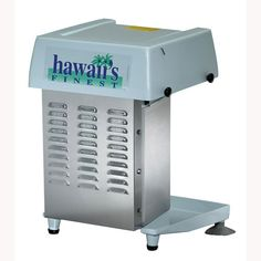 Gold Medal Heavy Duty Hawaii's Finest Shave Ice Machine (1027HD)