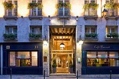 ~Hotel d'Aubusson~ Located around Saint Germain Des Pres and the Latin Quarter Paris Paris Saint Germain Paris Paris Hotels, Hotel Paris, Paris Paris, Paris Cafe, Paris France, President Hotel, My Little Paris, My French Country Home, Latin Quarter