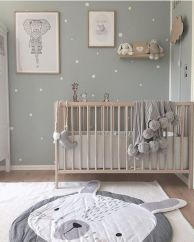 65 beautiful baby girl nursery room ideas 26 ~ Design And Decoration Baby Nursery Decor, Baby Decor, Kids Decor, Babies Nursery, Nursery Grey, Nursery Dresser, Project Nursery, Nursery Themes, Nursery Ideas For Boys
