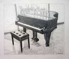 piano drawing, but still worthy for pinning