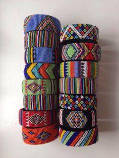 Zulu Bracelets from the Durban Bead Market