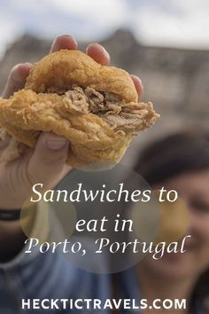 With two weeks to spare in Europe before returning to North America, we finally turned our attention to a country that we've always longed for but never ventured to: Portugal. Sandwich Shops, Best Sandwich, Visit Portugal, Portugal Travel, Algarve, Pork Cheeks, Roadtrip, Hot Dog, Searching