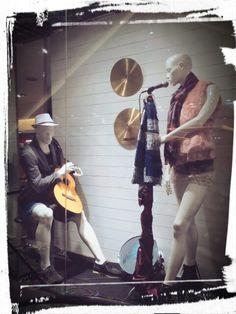 "Window display SOGO Emporium Pluit with theme ""Acoustic live"""
