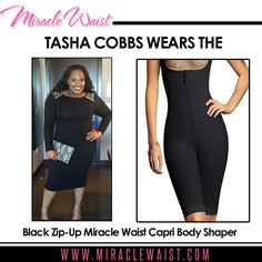 www.MiracleWaist.com #TheOfficialMiracleWaist #GetMiracleWaisted Gospel Recording Artist @TashaCobbs