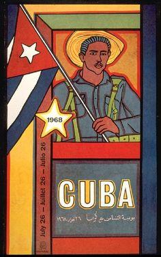 Cuban Solidarity with Vietnam Poster Printed Havana OSPAAAL Pop Art Arte Cuba Cubano Lithograph Off-Set 1975 Original Psychedelic Colors, History Magazine, Political Posters, Examples Of Art, Glasgow School Of Art, Arte Pop, Native American History, Cold War, Revolutionaries