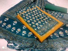 Suits & Dress Materials Attractive Cotton Salwar Suit  **TOP* * Slub Cotton + Hand Work (2.20 MTR)  **BOTTOM* * Cotton + Solid (2 Mtr)  **DUPATTA* * Muslin Silk + Digital Printed (2.25 Mtr)  **TYPE* * Un- Stitched  **COLOUR* * Multi Colour  **CONTAINS* * 1 TOP, 1 BOTTOM & 1 DUPATTA  *Sizes Available* Un Stitched *   Catalog Rating: ★3.9 (1089)  Catalog Name: Floral Printed Cotton Slub Suits & Dress Materials (Single Pack) CatalogID_126571 C74-SC1002 Code: 205-1042665-
