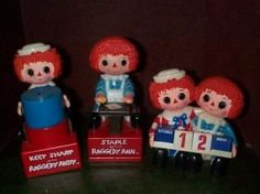 Raggedy Ann and Andy Desk Set