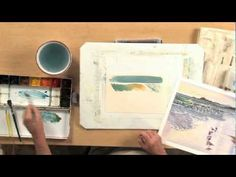Watercolor Art: How to Paint Water and Waves