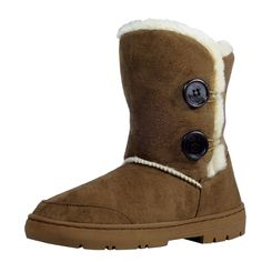 Afranker Womens Fold-Over Waterproof Winter Boots -- See this awesome image  : Ladies boots