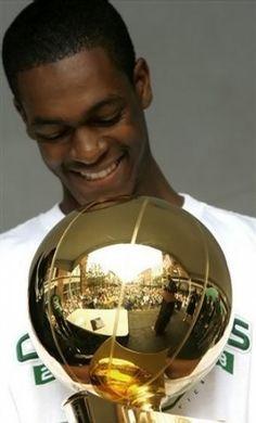 Former UK point guard Rajon Rondo won the 2008 NBA World Championship with the Boston Celtics