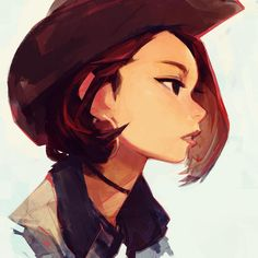 "Samuel Youn on Instagram: ""Cowgirl Chaeyoung #digitalpainting #chaeyoung #twice…"
