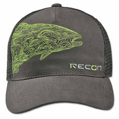 23817f040cb4c Fly-Fishing Trucker Hat   Topo Trout Hat -- Orvis UK Fishing Apparel