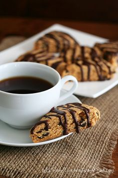 Low Carb Peanut Butter and Chocolate Scones #lowcarb shared via https://facebook.com/lowcarbzen