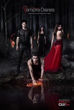 Poster of The Vampire Diaries Season 5  - Hosted at Beeimg Free image hosting