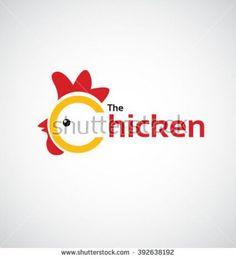 The Chicken icon design