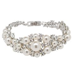 The beyond gorgeous Yasmeen bracelet by @dtembellish #WeddingJewelryInspsirations