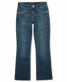 Levi's Kids Pants, Girls Thick-Stitch Boot Cut Denim Jeans - Kids Girls Levi's - Macy's $28.99