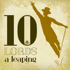 On the tenth day of #Christmas my true love sent to me: Ten lords-a-leaping #ESEO12DaysOfChristmas