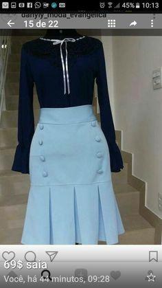 Modelos de vestidos para ir à igreja