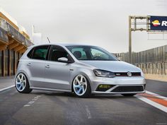 VW Polo GTI The new Volkswagen Polo GTI is clearly recognisable as the sporty flagship of the series, both in the and the version. Volkswagen Polo, Volkswagen Car Models, Vw Cars, Polo Gti, Frankfurt, Car Manufacturers, Cool Cars, Dream Cars, Classic Cars