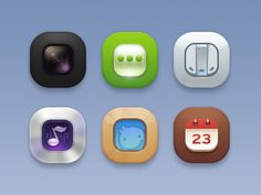 Dribbble - O Icons by J.max