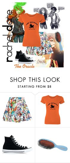 """""""Rachel Dare"""" by booklover66 ❤ liked on Polyvore featuring Jeremy Scott, Converse and Mason Pearson"""