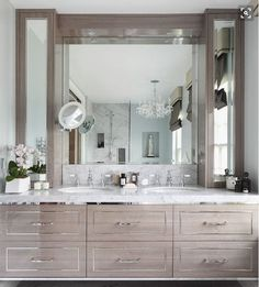 Home Decor Bedroom 15 Bathrooms With A Fabulous Floating Vanity.Home Decor Bedroom 15 Bathrooms With A Fabulous Floating Vanity Silver Bathroom, Bathroom Accents, Modern Bathroom, Wood Bathroom, Bathroom Cabinets, Kitchen Cabinets, Oak Cabinets, Simple Bathroom, Contemporary Bathrooms