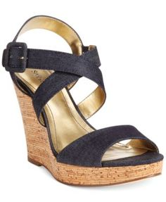 Style&co. Allexius Platform Wedge Sandals | macys.com
