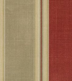 Waverly Upholstery Fabric-Country Club Crimson