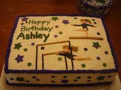 Gymnastics Cake Photo By ShortcakesGA