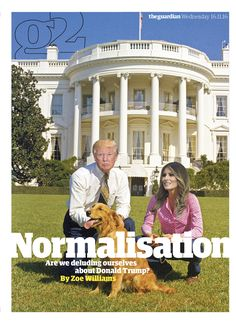 Guardian g2 cover: Normalisation. #editorialdesign #newspaperdesign #graphicdesign #design #theguardian
