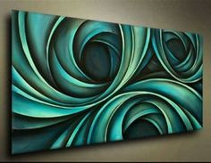 Online Shop Modern Abstract Oil Painting On Canvas! New! Free shipping!|Aliexpress Mobile