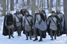 """Reign -- """"Higher Ground"""" -- Image Number: RE120b_0003.jpg -- Pictured: Toby Regbo as Prince Francis (center) -- Photo: Ben Mark Holzberg/The CW -- © 2014 The CW Network, LLC. All rights reserved."""