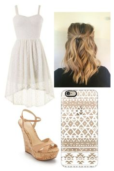 """""""Untitled #116"""" by victoria1221 ❤ liked on Polyvore featuring Schutz and Casetify"""