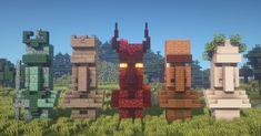 I built 5 new Villager Statue designs! [Including Tutorial] : Minecraftbuilds - Minecraft, Pubg, Lol and Plans Minecraft, Minecraft Building Blueprints, Minecraft House Tutorials, Cute Minecraft Houses, Minecraft Room, Amazing Minecraft, Minecraft Tutorial, Minecraft Crafts, Minecraft Stuff