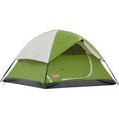 Sundome Tent Camping Rain Fly Fiberglass Shock-Corded Poles Clip Hooks 3-Person #Tents