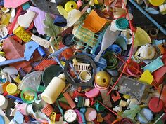Beach Plastic Turned Art : Saving Our Oceans | Soul-Flower Blog