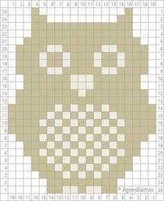- Knitting and Crochet - Best Knitting Pattern Owl count pattern . - knitting and crochet History of Knitting Wool spinning, weaving . Knitting Charts, Knitting Stitches, Filet Crochet Charts, Knitting Patterns, Crochet Patterns, Crochet Pixel, Crochet Owls, Knit Crochet, Crochet Owl Blanket
