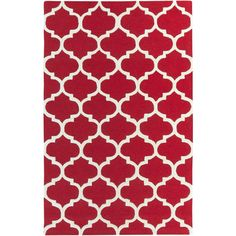 Found it at Wayfair - Pollack Red Geometric Stella Area Rug
