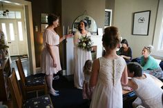 Cray Bay & Napier bus route prints amongst wedding prep. Special x