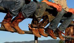 Cowboy Boots Mixed Media  - Cowboy Boots Fine Art Print