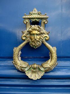 NEPTUNE DOOR KNOCKER