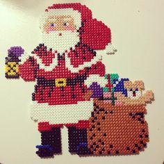 Christmas Santa Claus hama perler by mialrw