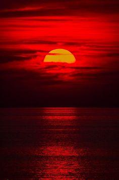 Sunset Wasaga by Wesley Liikane