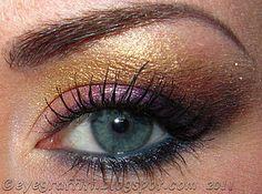 purplish gold