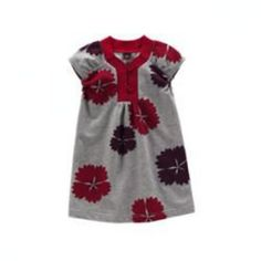 Tea Collection Meiji Floral Dress in color dark grey heather from Japan holiday 2009