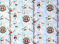 Blank Quilting - Gina Linn 'Woodland Christmas' we-653-02-9055