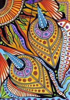 zentangle and doodle Doodle Patterns, Zentangle Patterns, Zen Doodle, Doodle Art, Grafic Design, Tangle Art, Doodle Inspiration, Doodles Zentangles, Decoupage