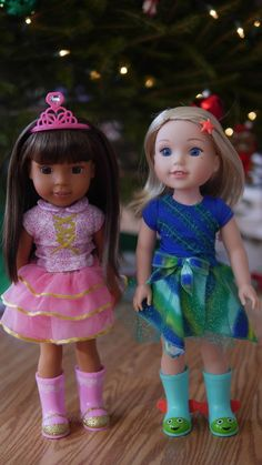 Theresa's Reviews - Unboxing of Two Wellie Wisher American Girl Dolls, Ashlyn and Camille